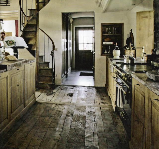 Garnier kitchen featured in Maisons Côté Est magazine as seen on linenandlavender.net