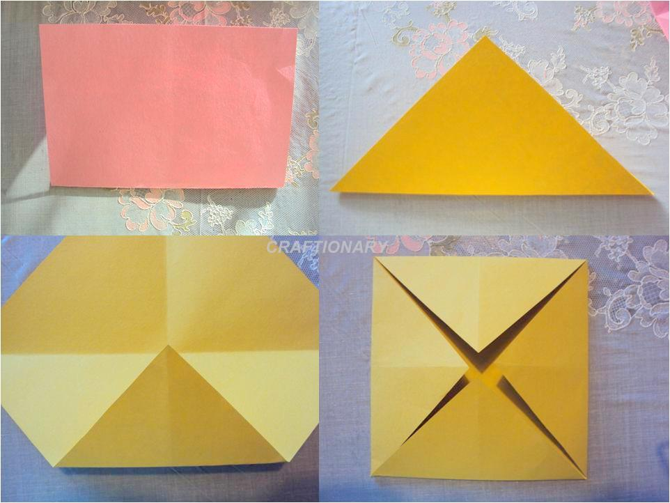 Origami Flower Kids Paper Crafts
