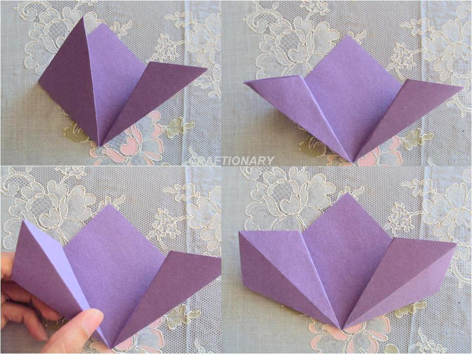 Easy paper origami flower vatozozdevelopment easy paper origami flower mightylinksfo