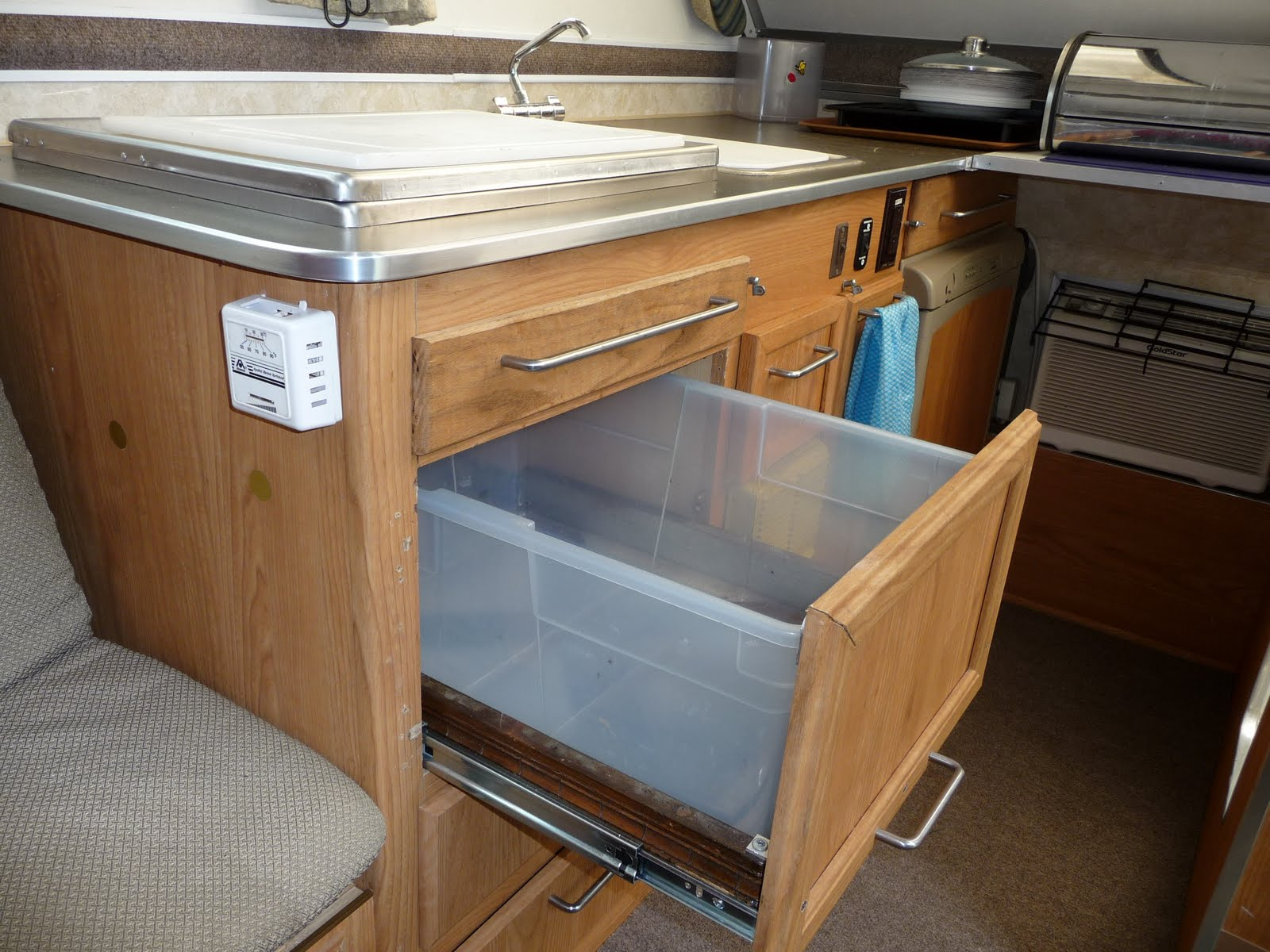 Slide Out Cabinet Drawer Canned Goods Storage
