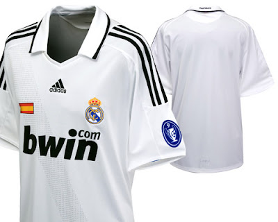 sports shoes 3785c ce109 New Kits on The Blog: Real Madrid UEFA Champions League Home ...