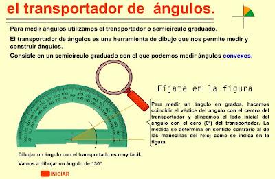 geometria. transportador de angulos. eloviparo