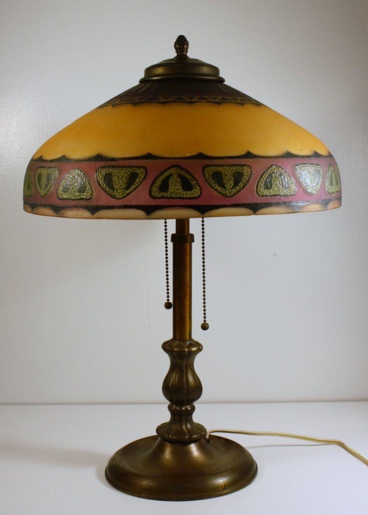 Views from North Cecil: Pittsburgh Lamp of 1910 with