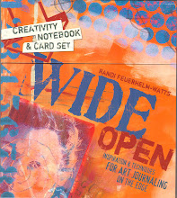 Wide Open; Inspiration and Techiniques for Art Journaling. By Randi Feuerhelm-Watts. www.amazon.com