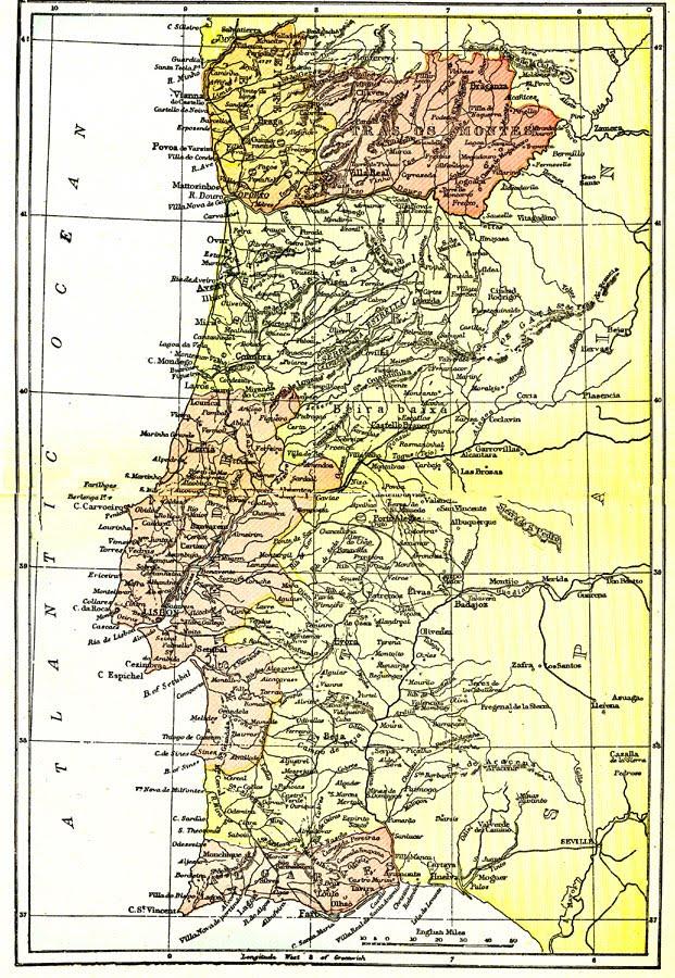 mapa de portugal todo Coordenadas: Maps ETC: Mapas históricos de todo o mundo para  mapa de portugal todo