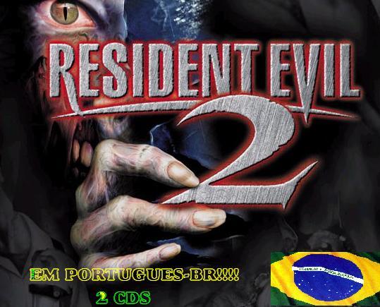 Resident Evil 2 EM PORTUGUÊS dois cd´s- Raridade e Exclusividade!!! - PC Resident_evil2