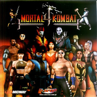 baixar capa Mortal kombat 4   Portátil !
