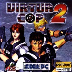 Virtua Cop 2 Portátil! Virtua