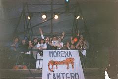 Morena revolucionando Buenos Aires No Duerme (año 1997/98