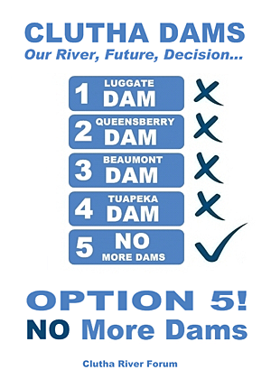OPTION 5! ~ NO More Dams