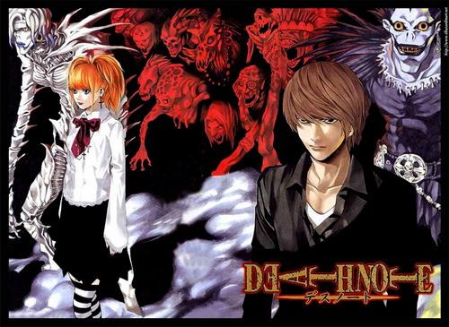 تقرير عن الانيمي المشهور Death Note Death_Note