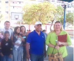 LA PROFESORA SUSAN, FUE TESTIGO DEL TRABAJO PARTICIPATIVO DEL GP-25 OC EN LA COMUNIDAD