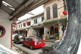 ถนนผู้ดีในช่วงตรุษจีน