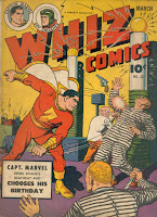 capt. marvel birthday whiz comics 52 1944 cc Beck