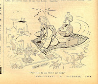 frank beaven cartoon flying carpet
