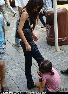 Cristy Li China Shenzhen Children Beggar S