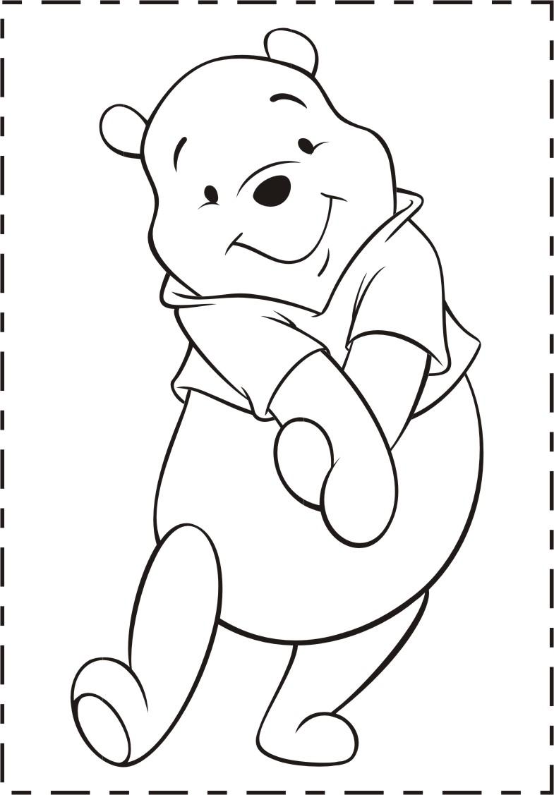 Planse De Colorat Planse De Colorat Winnie The Pooh