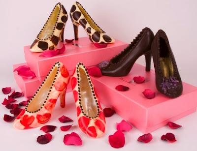 chocolate world عالم الشكولاتة Edible+shoes2