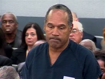 O.J. Simpson is headed to prison