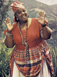 Jamaican poet Miss Lou