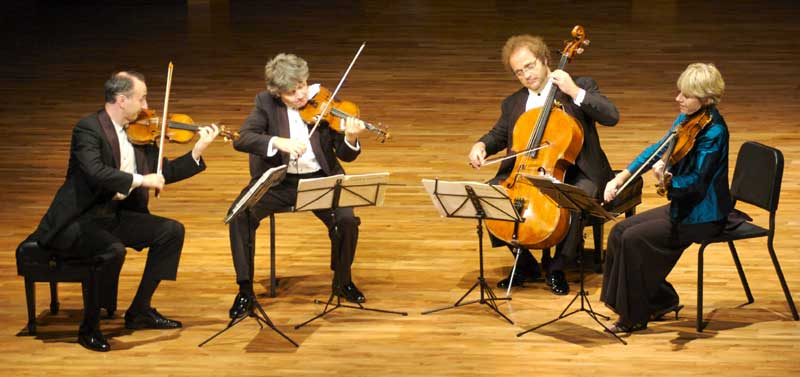 Takács Quartet, photo by Lin Wang