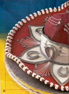 026 Torta Sombrero Mexicano decorar, decoración