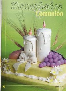 tortas15 Torta Comunion decorar, decoración