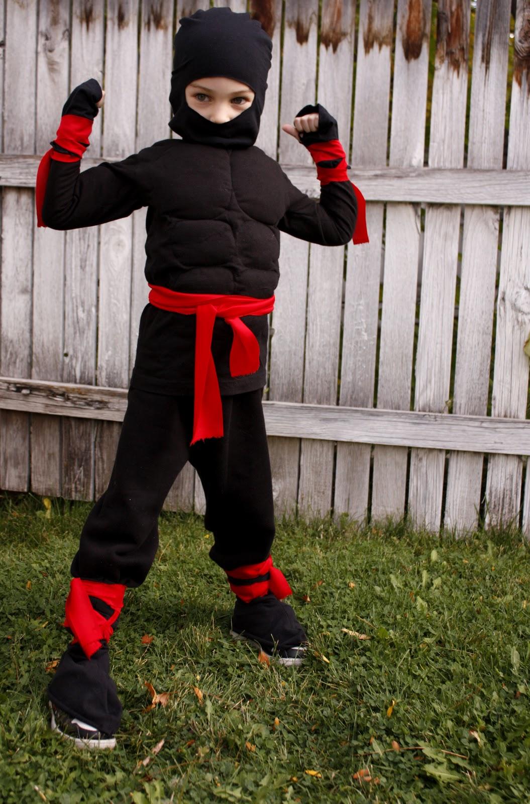 ninja costume. Black Bedroom Furniture Sets. Home Design Ideas