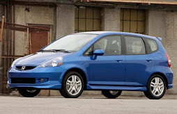 Honda fit 2007 (azul)