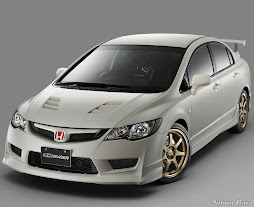 Honda Civic Type R (branco)