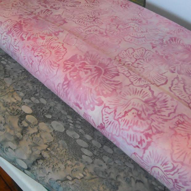 Fabric Fascination Sampler Block - Winding Ways