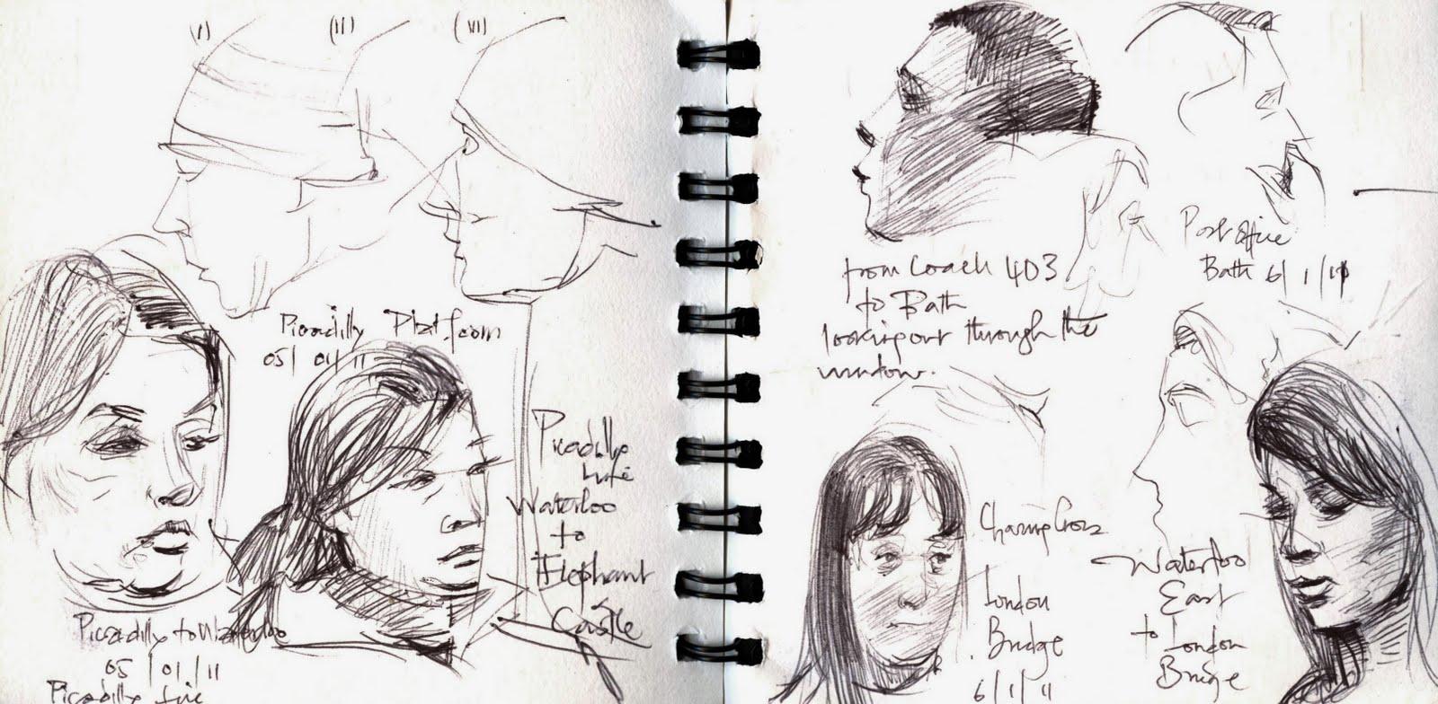 Adebanji Alade My Art, My Passion For Sketching Sketches -6614
