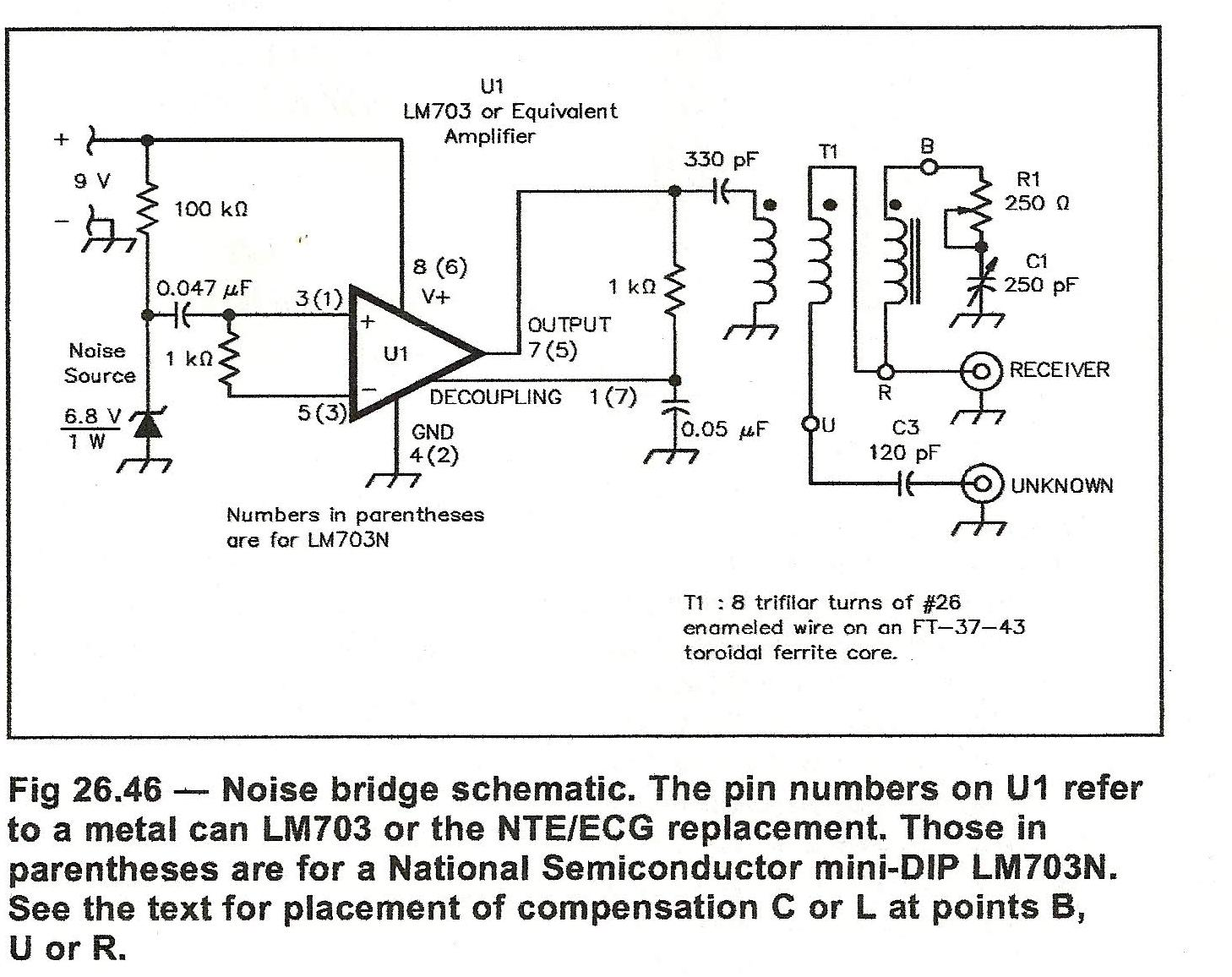 small resolution of for those who like to homebrew and need detailed build instructions as i do i have attached a noise bridge from test equipment by clive smith g4fzh using