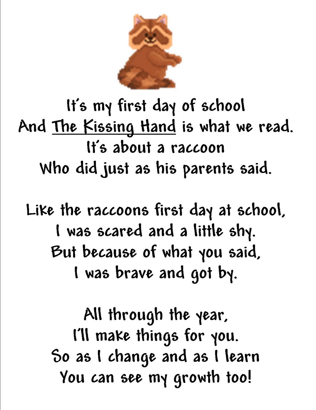Educationtipster Kathy Stemke Author Educator First Day Of School Poem