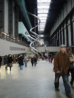The Tate Modern has slides... now that is art - at least people are smiling and their pulses race