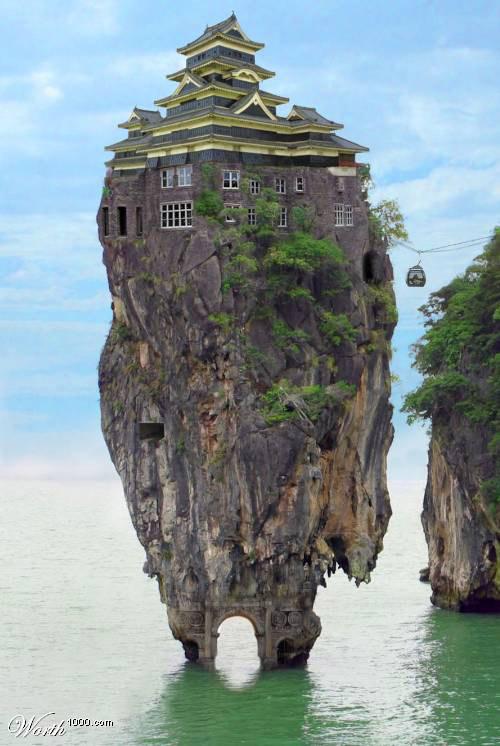 indulgences and whims: very strange homes....
