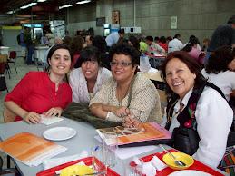 Mis compañeras en la Universidad de República de Uruguay.