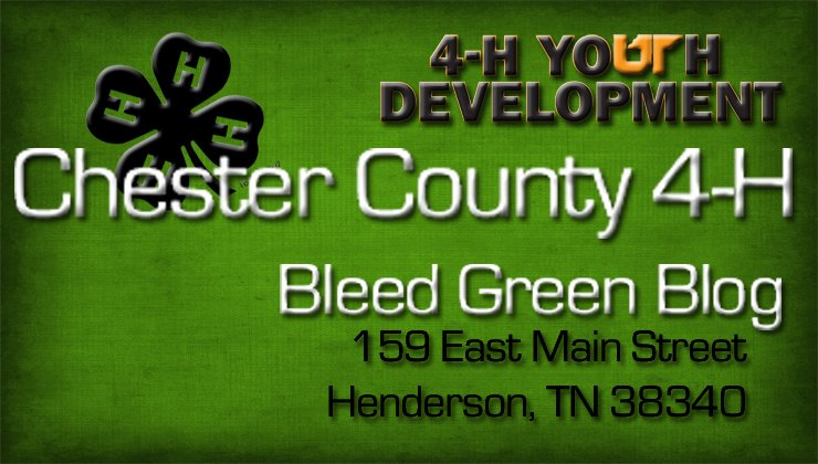 Chester County Bleed Green Blog
