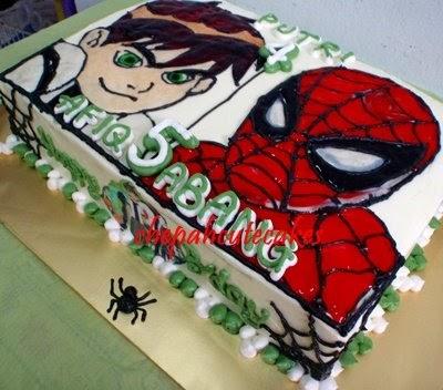 Home Bakery Bangi Kajang Ben 10 Vs Spiderman