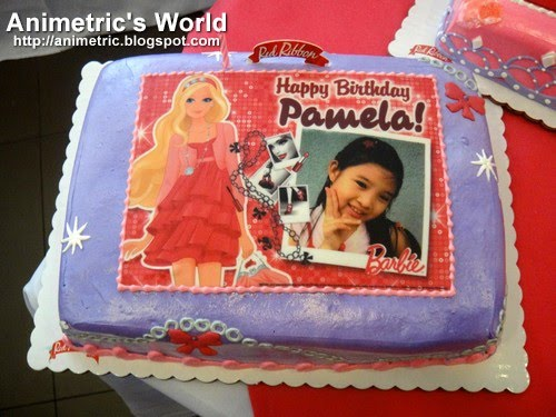 Red Ribbon Personalized Picture Cakes Cake Recipe