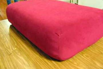 how to recover a sofa without sewing purple sectional comin home re cover couch cushions includes the world s best technique ever