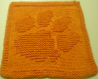 Free Knitting Patterns To Print : frogiez place...: paw dishcloth pattern