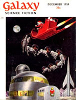 Cover image by EMSH of Galaxy Science Fiction magazine, December 1954 issue