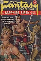 Cover image of Avon Fantasy Reader No 17, June 1951, edited by Donald A Wollheim