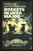 Cover image of the 1969 novel titled Rockets in Ursa Major by Fred and Geoffrey Hoyle