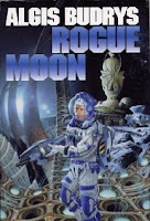Cover image of the 1960 novel titled Rogue Moon by Algis Budrys