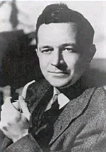William Fitzgerald Jenkins, better known by his pseudonym Murray Leinster to science fiction community. Picture is of him at a relatively young age.