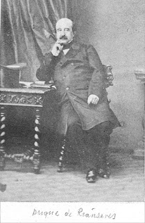 photograph of the Duke of Rianzares Augustin Fernandez Muñoz