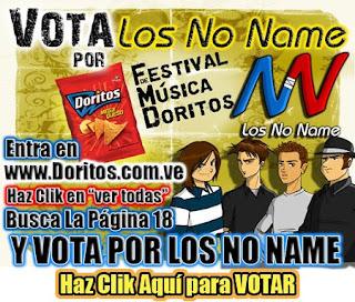 Los No Name en Festival de Música Doritos