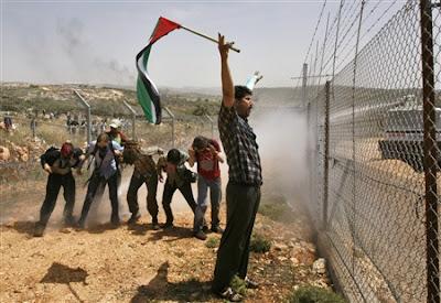 Activistas palestinos por la paz
